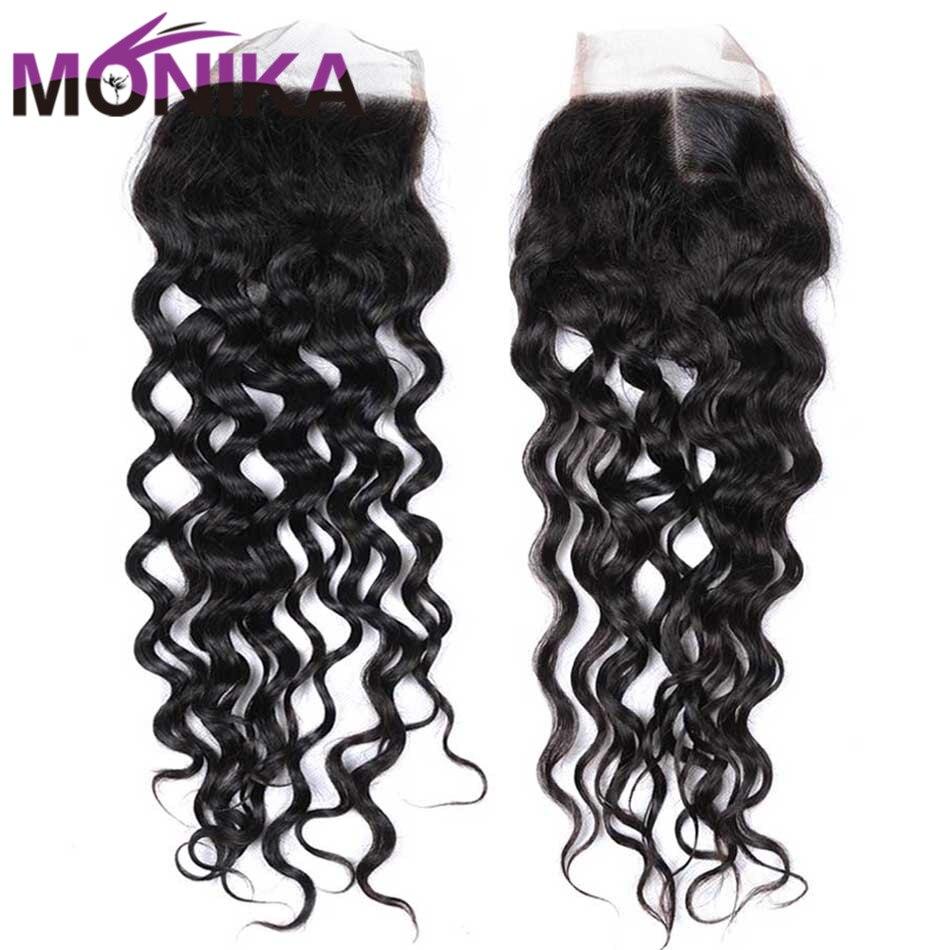 Monika Closure Malaysian Hair Water Wave