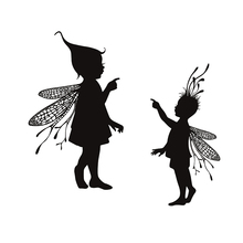 fairy angel set Transparent Clear Silicone Stamp Seal for DIY scrapbooking paper card photo album Decorative clear stamps vintage hanger design transparent clear silicone stamp seal for diy scrapbooking photo album paper card rz 086