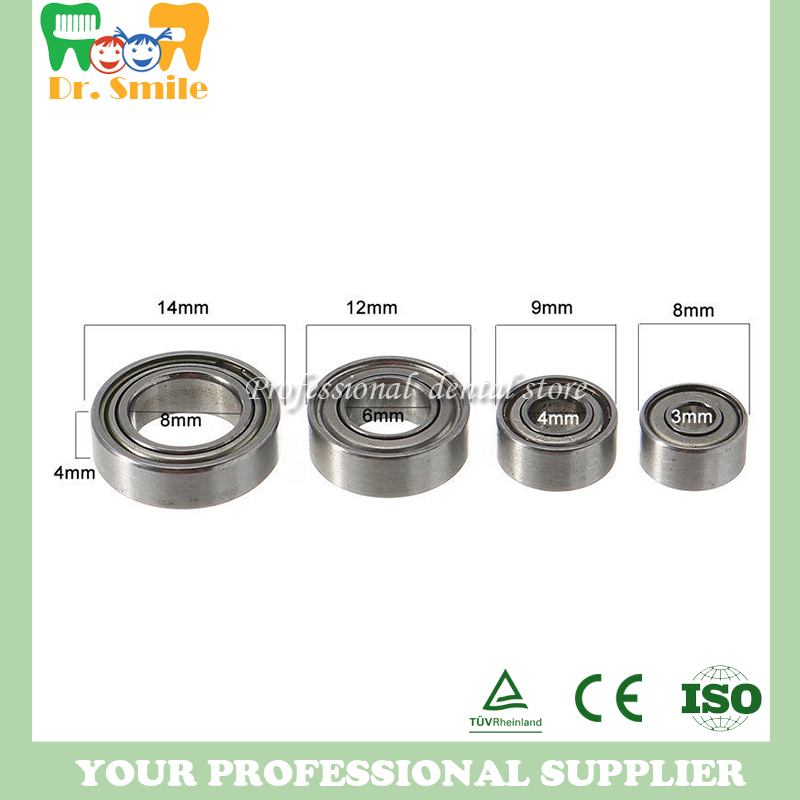 Free shipping of 4 pcs dental Handpiece Bearing For STRONG 204 Micro Motor Handle Accessories 35,000RPM Bearing 102L 1 pc micro motor handpiece strong 102l for st204 grinding machine polisher dental jewelry carving tools for variety of materials