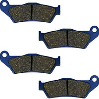 For HUSQVARNA TC 450 03-10 TE 450 03-10 FE 501 (4T) 14-15 TC 510 04-09 TE 510 04-10 TE 511 (4T)11-13 Motorcycle Brake Pads Front