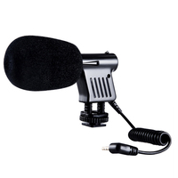 Mini Microphone Interview Broadcast Directional Condenser For DSLR Cameras Camcorder Recording ND998