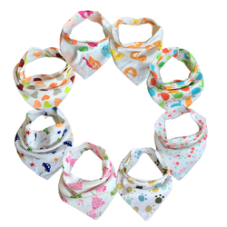 Free shipping 10pc lot baby bibs 100 cotton triangle head scarf boy kerchief girl babador bandana.jpg 250x250