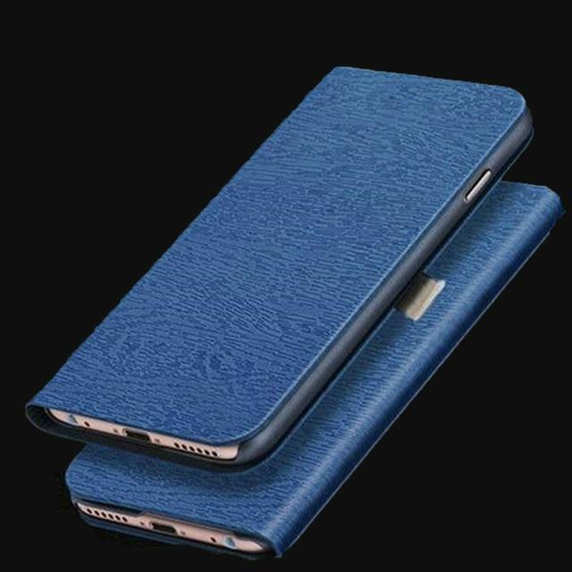 Per UMIDIGI A5 Pro Caso di Modo di Cuoio DELL'UNITÀ di elaborazione Della Copertura Del Raccoglitore con il Supporto Del Basamento Sacchetto Del Telefono Protettiva Coque Per UMI A5 pro