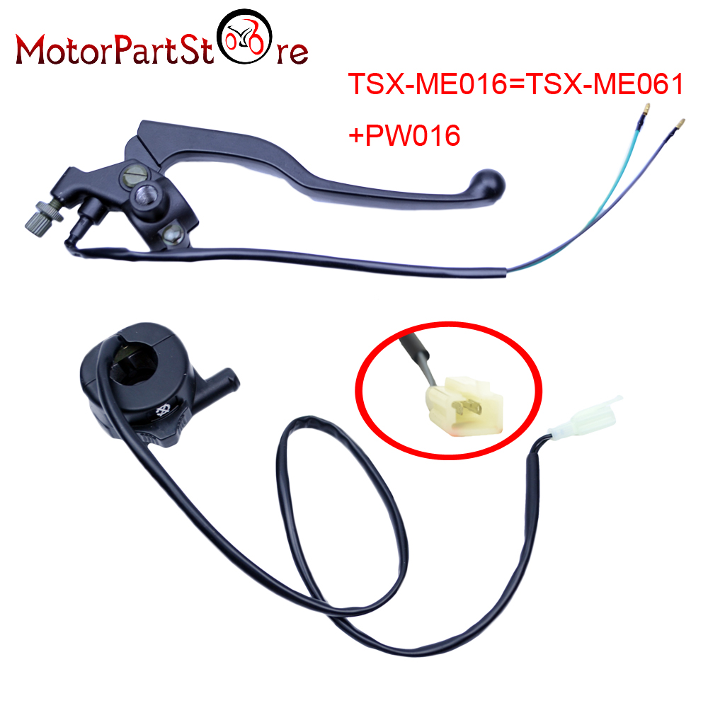 New Throttle Housing Switch Right Hand Brake Lever for YAMAHA PW80 PY80 PW PY 80 PEEWEE Motorcycle Dirt Bike Part * 35 83 motorcycle throttle cable for 50cc 150cc dirt bike d030 042