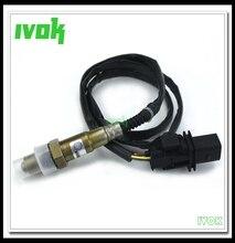 Alta qualità! LSU 4.9 5 Fili Lambda O2 Sensore di Ossigeno 0258017025 17025 LSU 4.9 Larga Banda O2 Sensor 0 258 017 025