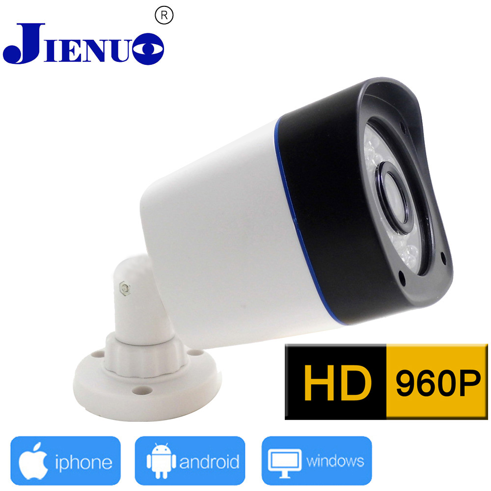 960P Ip Camera 1.3MP HD Outdoor Cctv Cameras Waterproof Security Surveillance Home Infrared Video P2p Onvif Camera De Seguridad jienuo ip camera 960p outdoor surveillance infrared cctv security system webcam waterproof video cam home p2p onvif 1280 960