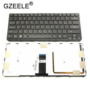Image 2 - GZEELE US backlit new laptop keyboard for Sony VAIO SVE 14 SVE14 SVS14 SVE14A SVE14AG backlit Keyboard 149009711US 9Z.N6BBF.C01