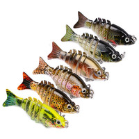 5cm classic 2.35g color multi section fish bionic bait variety optional small and delicious easy to hook leisure fishing supplie