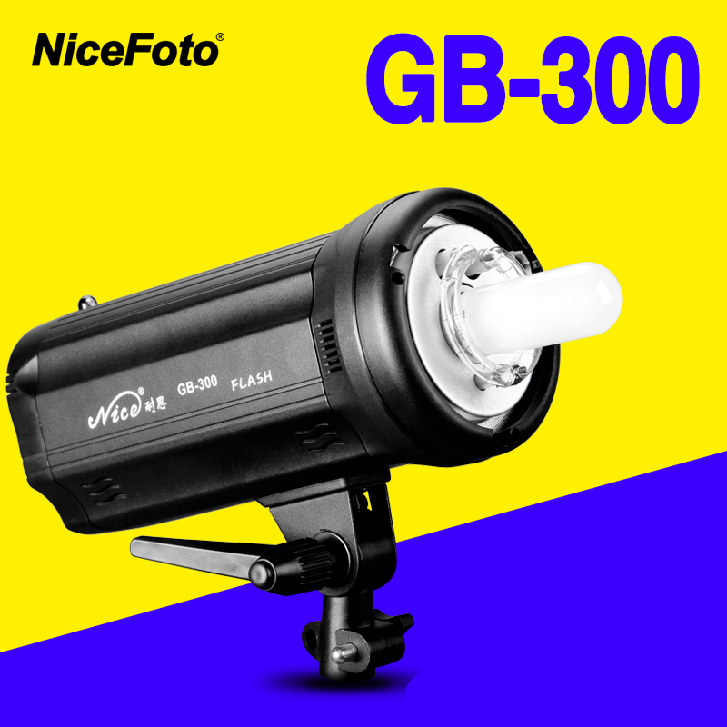 купить NiceFoto TGB-300 300W Studio Flash fast recycling time GB 300 Studio profession photography studio light lamp