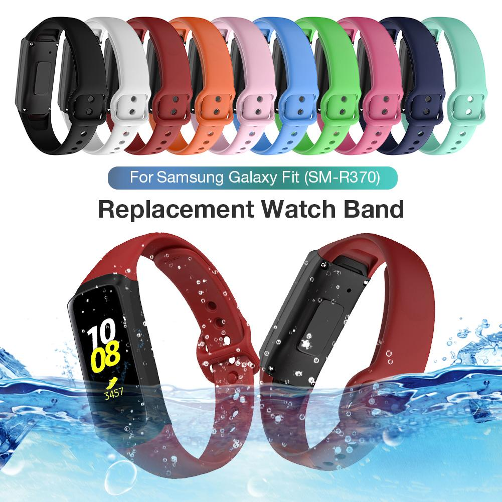 Loopback-Strap Bracelet Fit-Sm-R370 Multicolor Galaxy Samsung Silicone