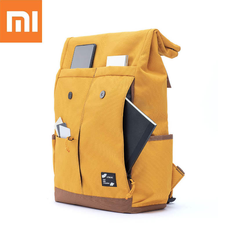 Cheap Price 13l Xiaomi Urevo College School Leisure Backpack Waterproof Laptop Bag School Bags Outdoor Travel Backpack 15.6 Inch - Yellow Nourishing Blood And Adjusting Spirit