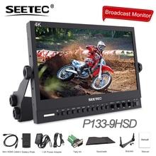 Seetec P133-9HSD 13,3 «ips 3g SDI 4 К HDMI трансляции монитор Full HD 1920×1080 области видео Настольный ЖК-монитор С AV DVI