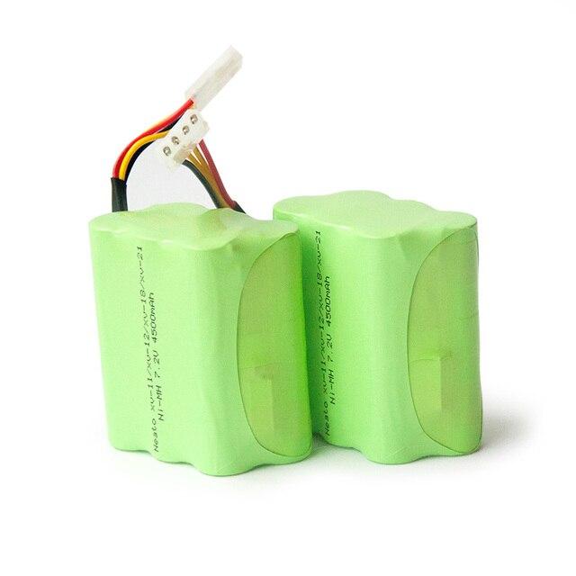 Neato Robot aspirador de 7,2 v, 4500mAh, batería para XV 21, XV 11, XV 14, piezas de robot aspirador, accesorios