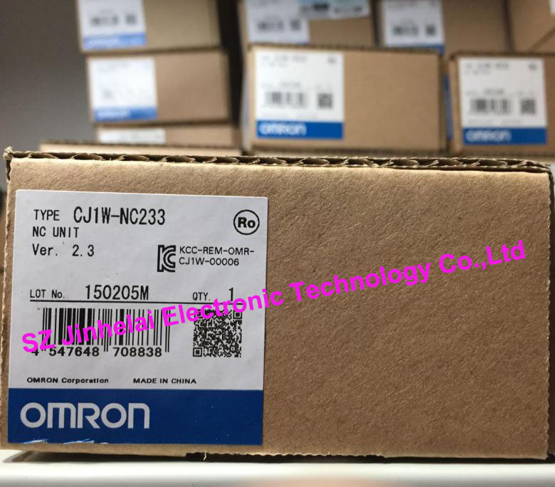 New and original  CJ1W-NC233  OMRON    Position control unit new and original e3x da11 s omron optical fiber amplifier photoelectric switch 12 24vdc