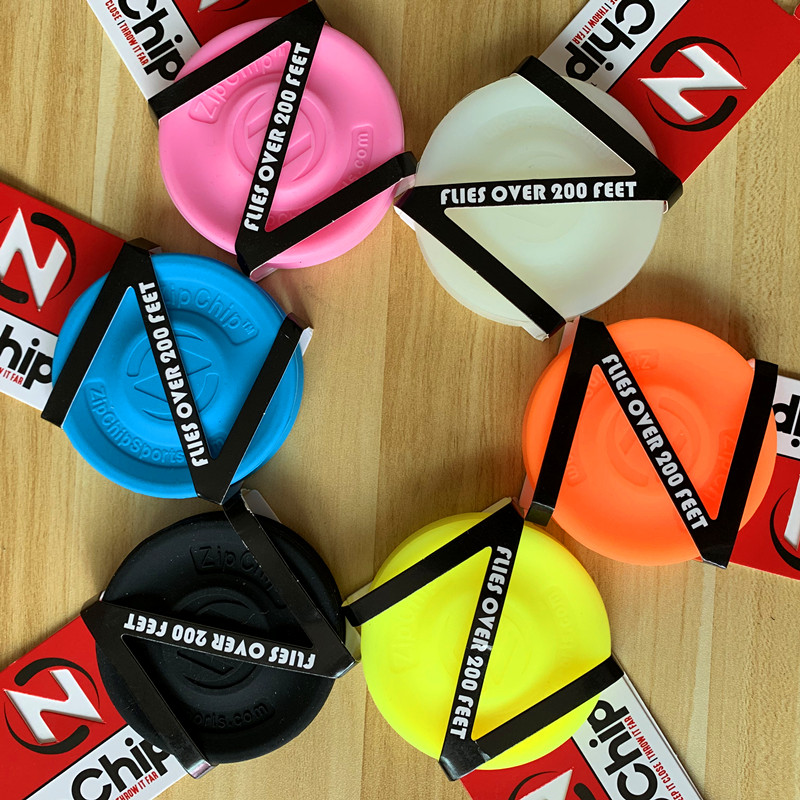 Outdoor Zip Chip Spin Game Toys  Mini Pocket Flexible ZipChip Flying Disc Soft  The New Way To Play Fingertip