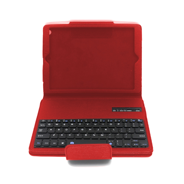 Pink Detachable Bluetooth Keyboard with Leather PU Case Cover For Apple iPad Air iPad 5