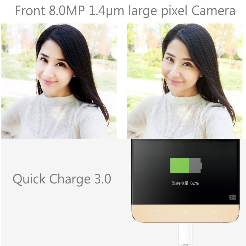 Оригинальный мобильный телефон Letv leEco Le Max 2X820, 4G LTE, 4 Гб ОЗУ, 32 Гб ПЗУ, четырехъядерный процессор Snapdragon 820, камера 5,7 дюйма, смартфон 21 МП - 5