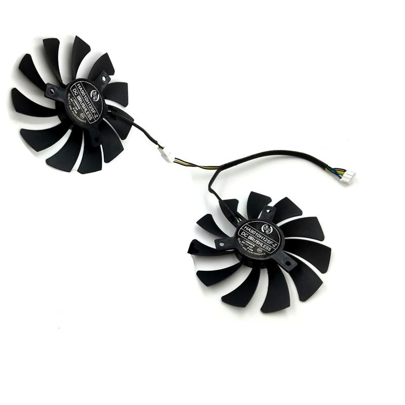 85mm MSI GTX1050Ti Single Fan Replacement 40mm 2Pin HA9010H12F-Z 12V 0.57A R228