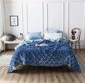 FAMVOTAR Премиум тяжелый бархат комплект стеганого постельного покрывала диван Ультра мягкий теплый покрывало Стёганое одеяло 5 одноцветное ц...