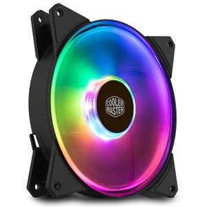 Image 4 - Cooler Master MF140R ARGB 14cm RGB 5V/3pin Computer Case silenzioso PWM Fan PC CPU Cooler radiatore raffreddamento ad acqua 140mm sostituisce le ventole