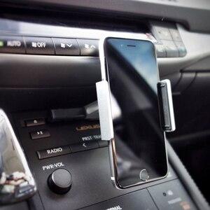 Image 5 - Alightstone 범용 자동차 휴대 전화 홀더 cd 슬롯 마운트 크래들 아이폰에 대한 모든 3.5 5.5 인치 전화 삼성