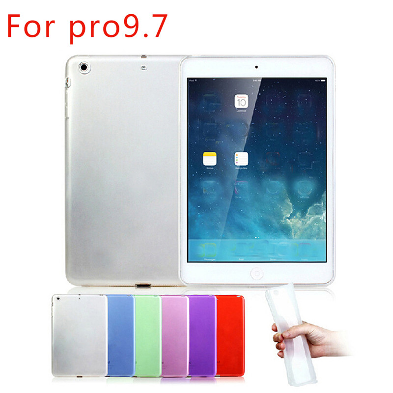 Ultra-thin Transparent Tpu Soft All-Wrapped Protective Case For iPad Pro 9.7inch 2016 Anti-drop Back Cover For iPad Pro Cases пена монтажная mastertex all season 750 pro всесезонная