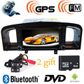 2 Din In-Dash  New Lifan 620 / Solano Car DVD Player with GPS Bluetooth Radio V-CDC USB port,Russian menu Free Camera + 8GBMap