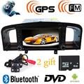 2 Din In Dash-Nova Lifan 620/Solano DVD Player Do Carro com porta USB GPS Bluetooth Radio V-CDC, menu Russo Câmera Livre + 8 GBMap