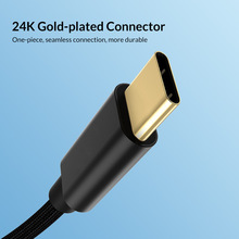 USB C כדי C כבל 3A USB סוג C מהיר מטען ניילון קלוע טעינת כבל תואם גוגל פיקסל 2/ 3/2 XL/3 XL, נקסוס 6 P 5X,