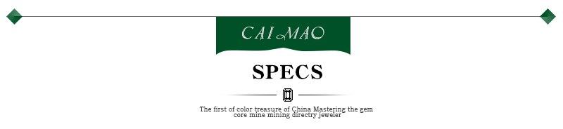 Caimao Jewelry 18KT White Gold 6x8mm Oval Cut 2.16ct Pink Tourmaline & 0.30ct Diamond Engagement Earrings free shipping 2