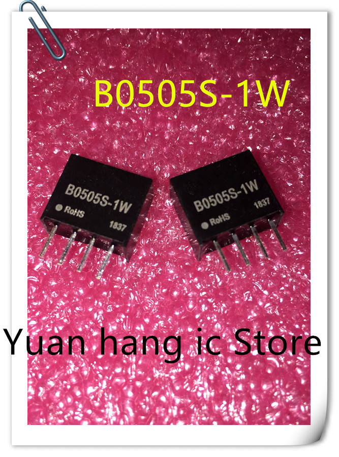 5PCS  B0505S-1W B0505S  DC-DC Power Module 5V Turn 5V Isolate The Stabilizing Power Module