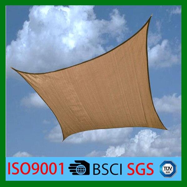 Free Shipping 2m X 2m Rectangle Shade cloth NEW Rectangular UV stabilized Sun Shade Sail