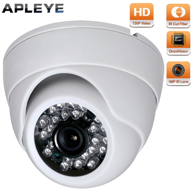 Mini AHD Camera 720P CCTV Security Video Camera 1.0MP PAL NTSC Eyeball Camara Surveillance IR-Cut Night Vision Dome Camera hd bullet outdoor mini waterproof cctv camera 1200tvl ir cut night vision camara video surveillance security camera