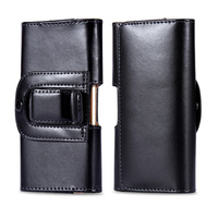 Luxury Pu Leather Men Waist Bag Clip Belt Pouch Mobile Phone Holster Case Cover For Cubot