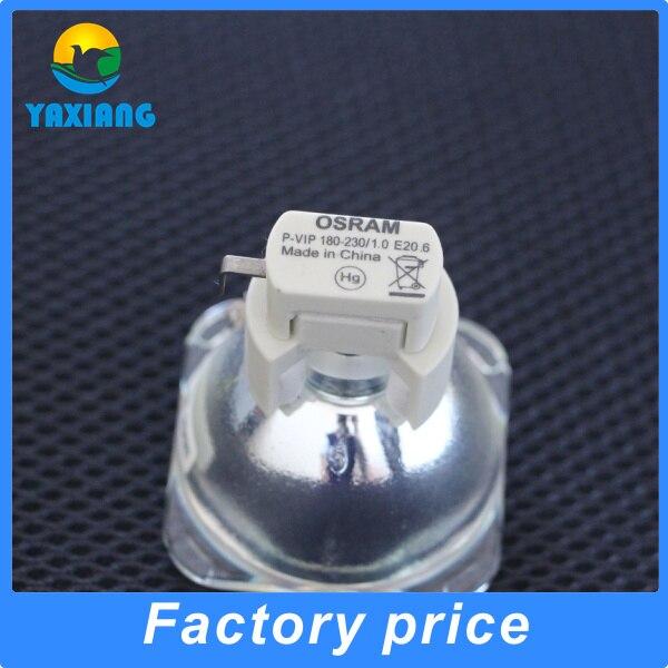 180 days warranty Original projector  lamp bulb  OSRAM P-VIP 180-230/1.0 E20.6 for EC.J6000.001 original projector lamp bulb osram p vip 230 0 8 e20 8