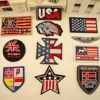 Popular Badge Iron on Patches 11pcs