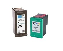 цена на 1set High Quality Black&Color For HP 96 97 Ink Cartridge For HP Deskjet 5740 6540 6840 9800 2610 2710 8030 8150 Printer