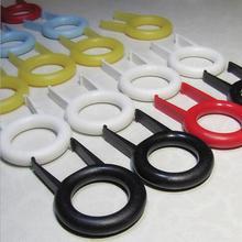 5 шт. брелок для удаления ключей Инструмент Мини ABS Пластиковый материал механическая клавиатура закругленная клавишная крышка Pulle