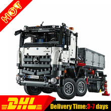 NEW LEPIN 20005 technic series 2793pcs Arocs truck Model Building blocks Bricks Classic Compatible 42043 Boys Gift