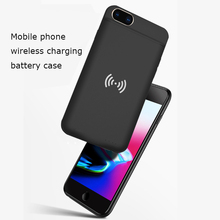 New Wireless charging phone case Battery Charger Cases for power bank iPhone 6 6s 7 8 Plus 4000mAh Power battery Case External стоимость