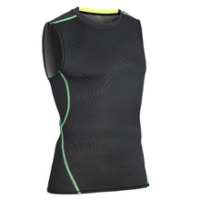 New Tank Tops Men Bodybuilding Tights Male Exercise Sleeveless Quick Dry Breathable Summer Fitness Mens Muscle Vest