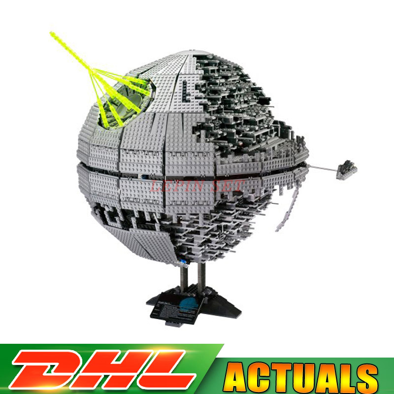 LEPIN 05026 Star Wars 3449pcs Death Star The Second Generation Building Block Bricks toy Model Compatible LegoINGlys 10143 bela 10464 star wars death star final duel bricks building block compatible with lepin