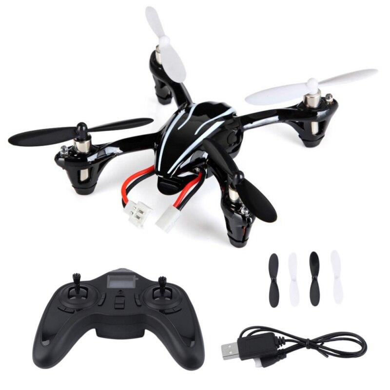 Mini rc drone H107L 2,4G 4CH RC helicóptero Quadcopter RTF con HD 2MP Cámara Gyro RTF con luz Led cuadcóptero de control remoto