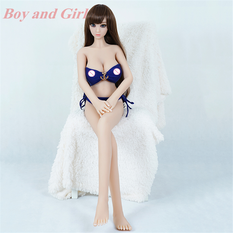 <font><b>132cm</b></font> <font><b>Sex</b></font> <font><b>Doll</b></font> High Quality Thin Waist Big Breasts Metal Skeleton Real Silicone Love <font><b>Doll</b></font> Oral Vagina Pussy Anal Adult <font><b>Dolls</b></font> image