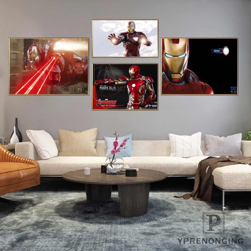 Custom Avengers Iron Man Poster Art Home Decor Canvas Printing Silk Fabric Print Wall Poster No Frame 180317@04