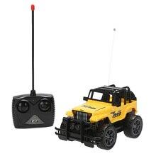 Niños de bebé de juguete para niños toys 1:24 drift velocidad radio remote control rc jeep off-road del vehículo + faro rc coche de bebé toys regalo