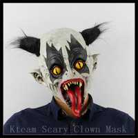 New Halloween Party Cosplay Scary Latex Clown Mask Movie Full Head Mask Horror Costume Batman Mask Clown Mask Theater Prop