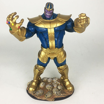 33cm Avengers Thanos Battle Form Statue Resin Full-length Action Figure Collectible Model Figurine Toys Birthday Christmas Gift