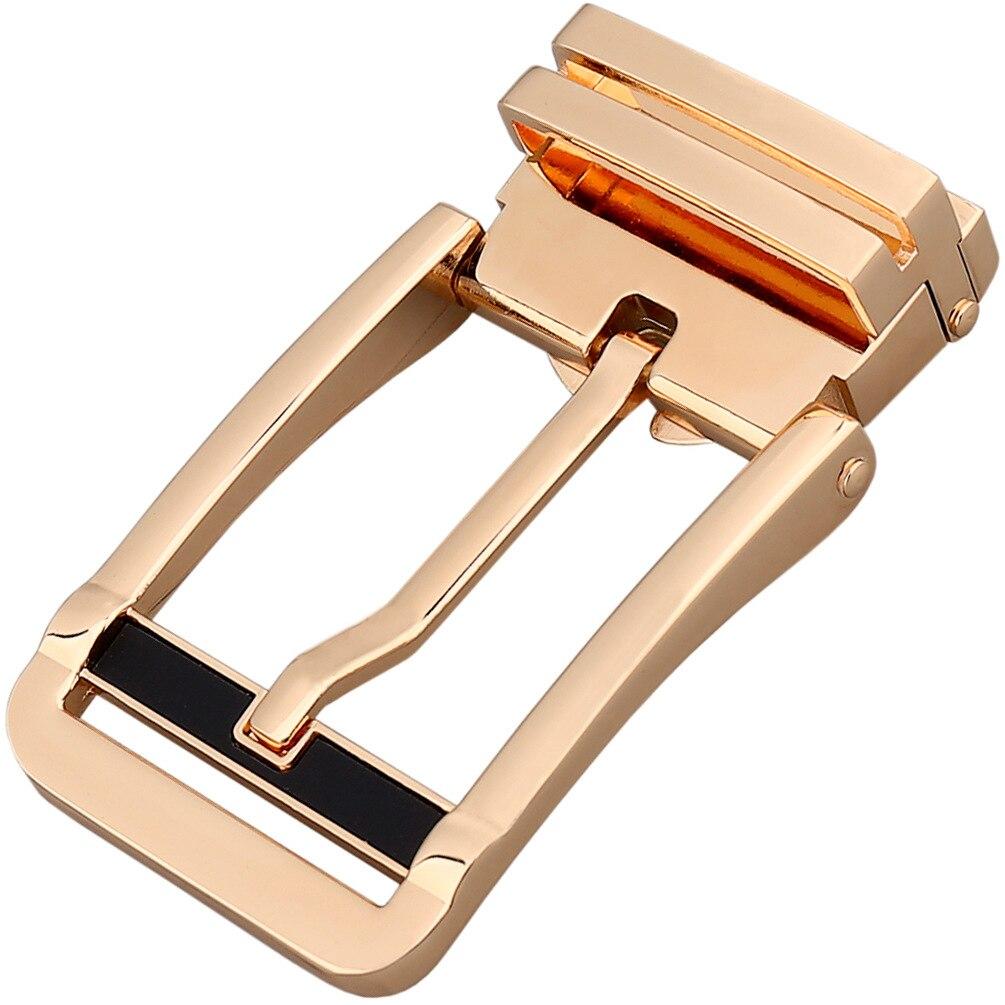 3.3-3.48cm Men Belt Genuine Leather Pin Buckle High Quality Metal Buckle Head Luxury Brand Designer Men Belt Buckle CE35-0216