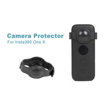 New Fisheye Lens Protector Cover for Insta360 One X Camera Lens Protective Case for Insta 360 One X Accessories Camera 360(China)